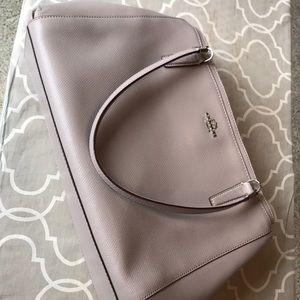 Gray Coach purse